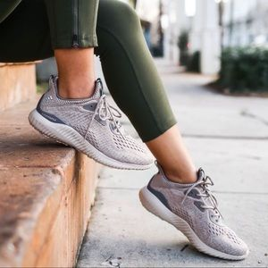 adidas alphabounce sneakers grey